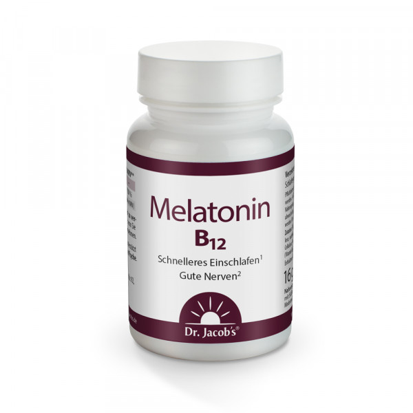 Melatonin B12 Tabletten 16 g